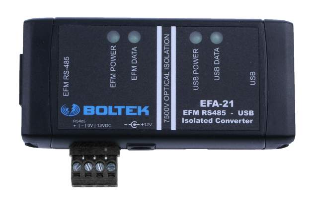 EFA-21 Power Module / RS485 to USB Converter for EFM-100C
